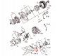 Вакуумный насос генератора ISUZU 4HG1, 4HG1-T Богдан А-091, А-092 Турция 1
