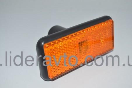 Фонарь-отражатель боковой оранжевый