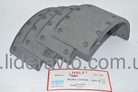 Накладка тормозная т.10мм комплект, HALT