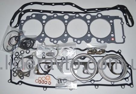 Набор прокладок полный на двигатель 4HG1-T (T=1 525) , ISUZU оригинал