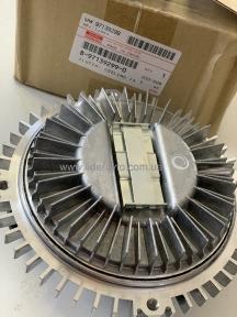 Вискомуфта вентилятора ISUZU NQR 4HG1/4HG1-T Богдан Е-1/Е-2 Оригинал