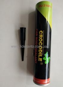 Герметик шовный Крокодил CROCODILE, серый, 310мл