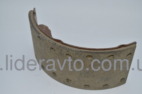 Колодка тормозная БОГДАН А-091/А-092  ISUZU в сборе с арматурой  т.11 мм