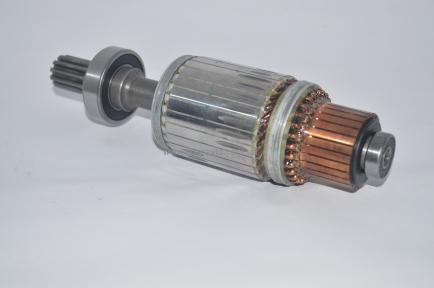 Ротор стартера 4.5 KW, ISUZU БОГДАН  с подшипниками